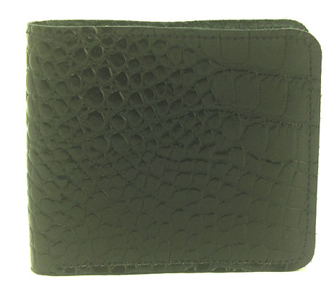 Men's Wallet Black with coin compartment