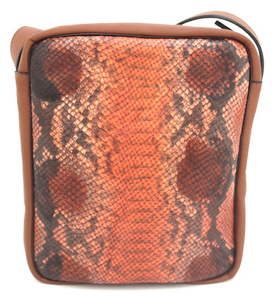 Charlie Snakeprint Tan
