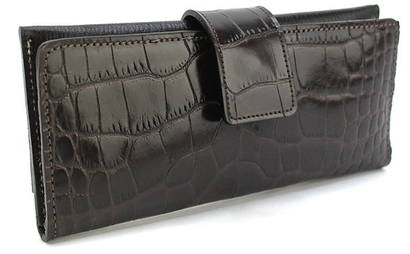 Fold Wallet Chocolate Brown