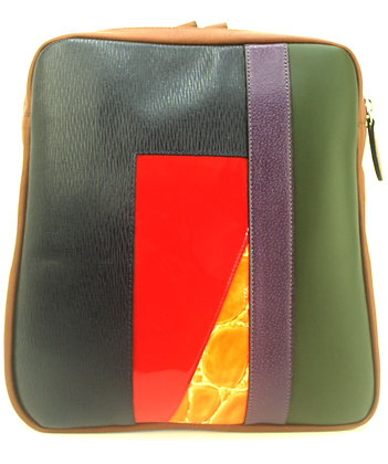 Backpack Red Multi