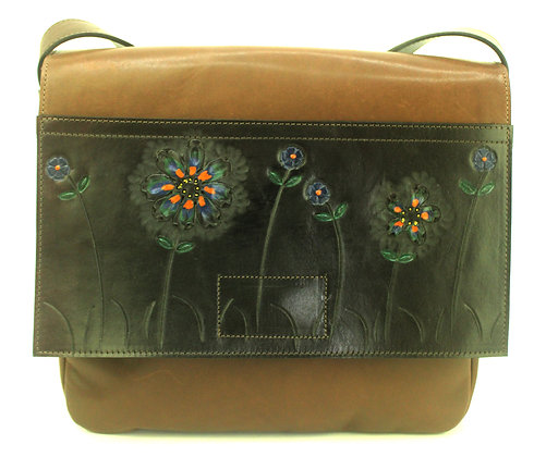 Medium Satchel Boho Brown