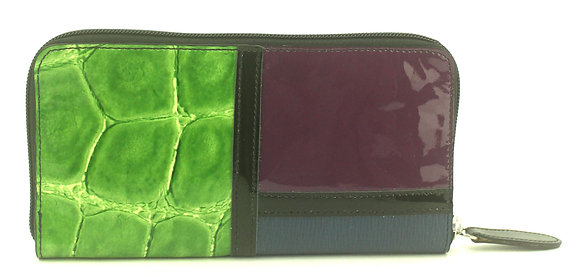 Large Zip Wallet Multi