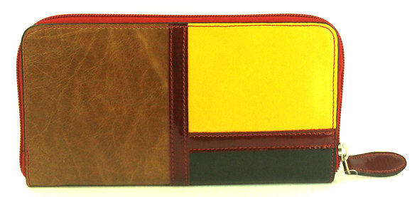 Large Zip Wallet Yellow