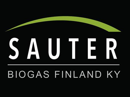 Sauter Biogas Finland Ky perustetaan 28.8. 2020.