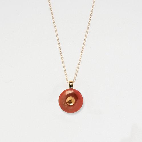 Persimmon Pendant Necklace