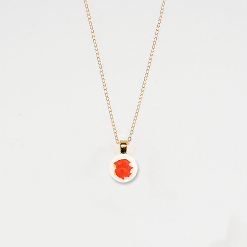 Two Goldfish Pendant Necklace