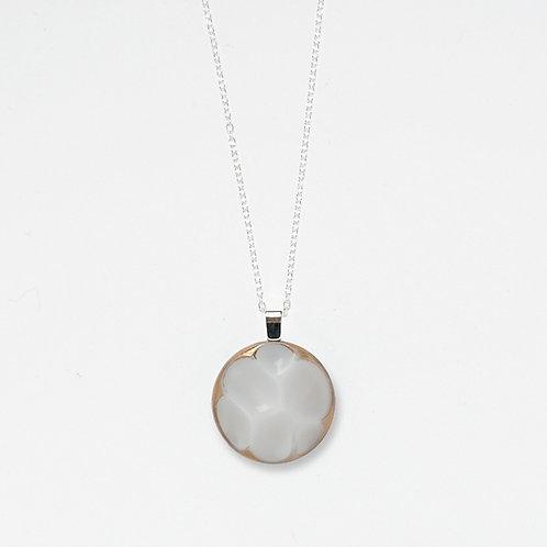 White Cloud Pendant Necklace