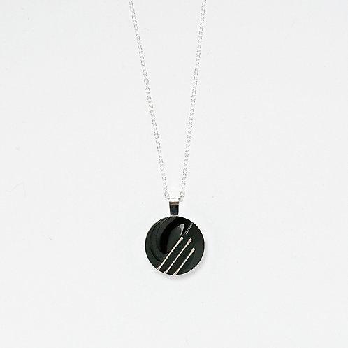 Graphic Pendant Necklace