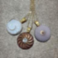 Glam sparkle shine pendant necklaces