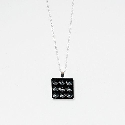 3 x 3 Pendant Necklace