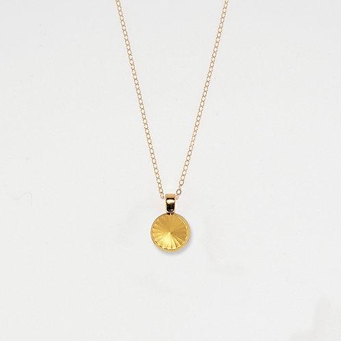 Radiant Sun Pendant Necklace