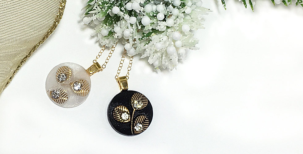 holiday glam pendant necklaces