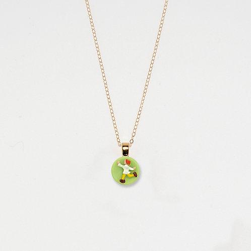 Frolicking Child Pendant Necklace