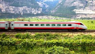 ევროპაში მატარებლით გადაადგილება