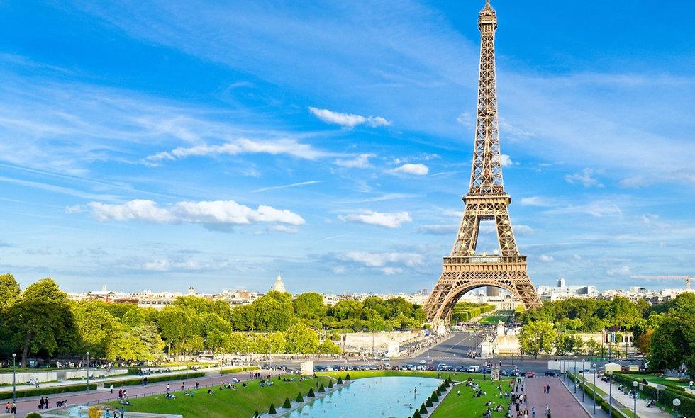 პარიზი,  საფრანგეთი - 6 დღე