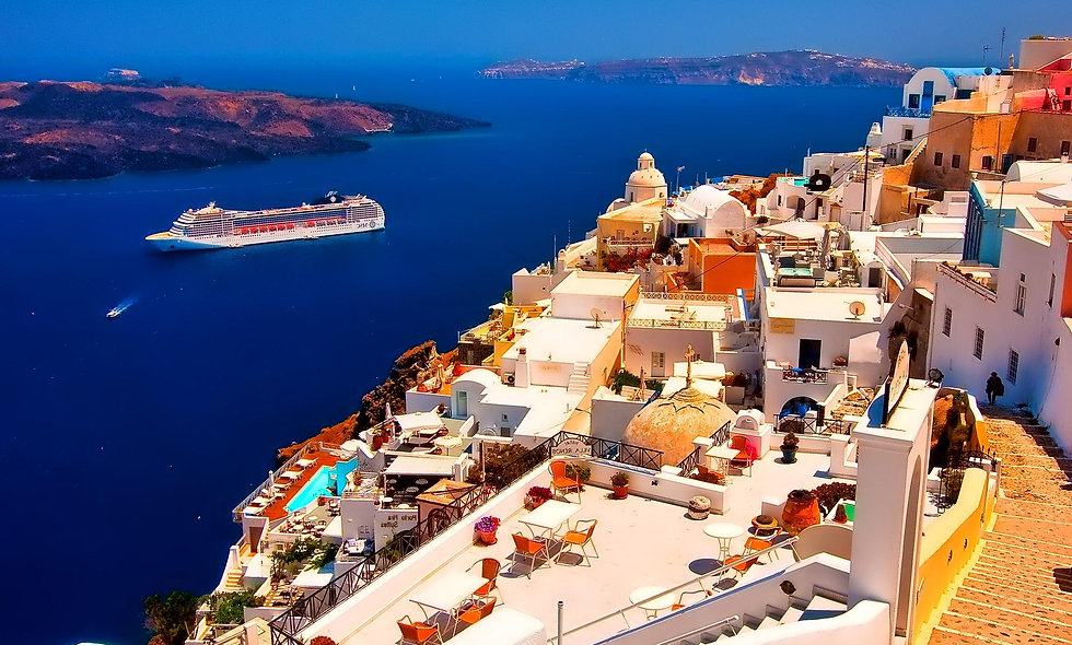 სანტორინი - ათენი, საბერძნეთი - 7 დღიანი ტური