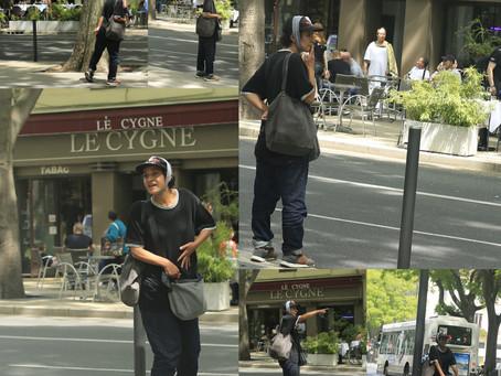 Dans les rues de Nîmes