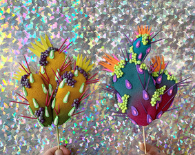 Cacti on Holographic