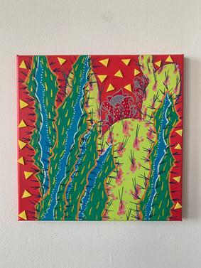 Red Cactus