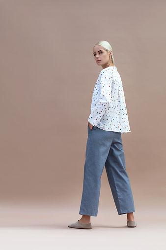 terrazzo print - slow fashion