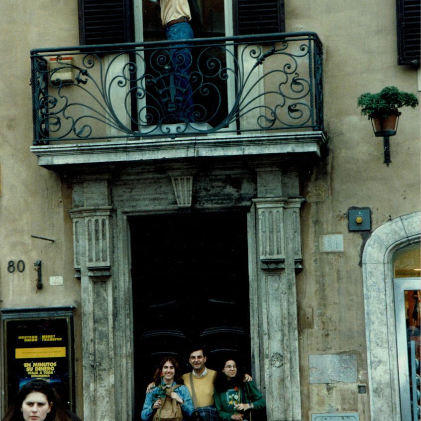 Roma 1998 Viaje del Rozas 1
