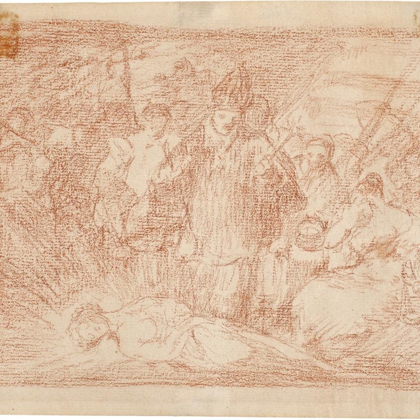 Murió la Verdad. Francisco de Goya.