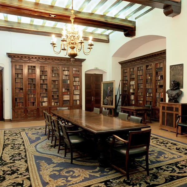 Sala Cervantina de la Biblioteca de Cataluña