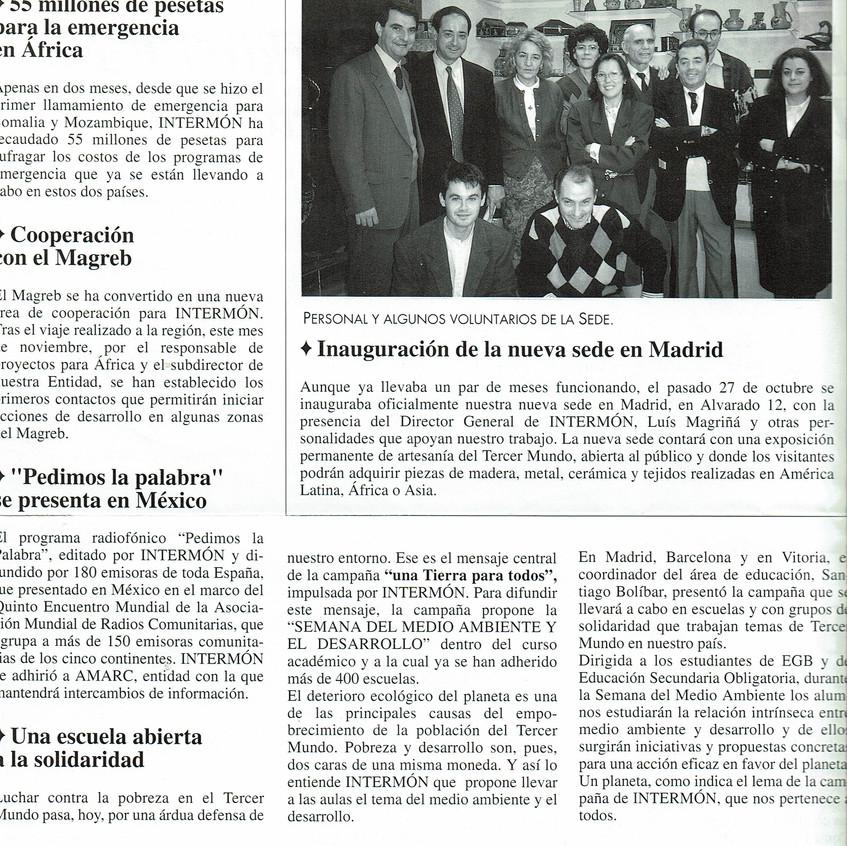 Intermón Madrid 1992. Luis Magriñá.