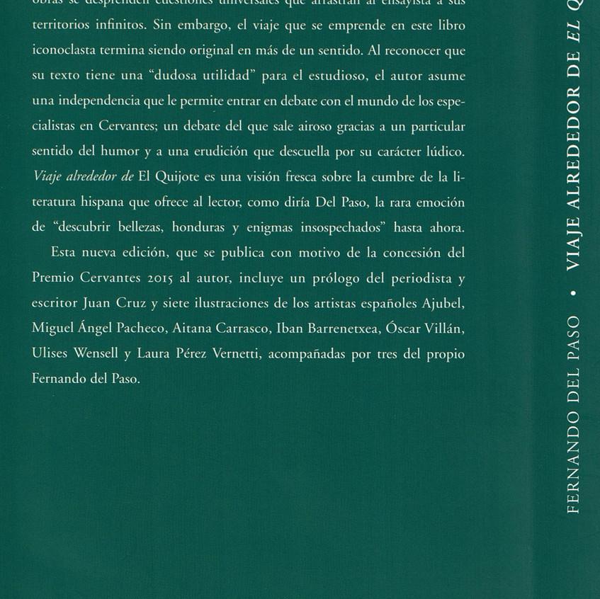 Fernando del Paso Contraportada