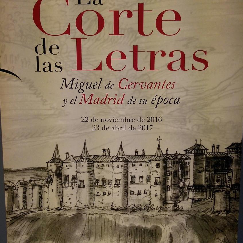 Exposición del Madrid de Cervantes.