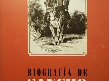 <Biografía de Sancho Panza. Filósofo de la sensatez>. Hipólito Rafael Romero Flores. Prólogo d