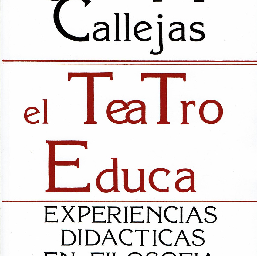 EL TEATRO EDUCA.