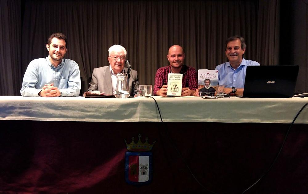 Francisco de Borja Callejas Díaz, Ciriaco Morón Arroyo, Alberto Díaz Bermejo y José María Callejas Berdonés.
