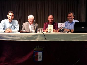 Crónica de la presentación de la web www.quijoteduca.org en la Casa de Castilla-La Mancha en Madrid.
