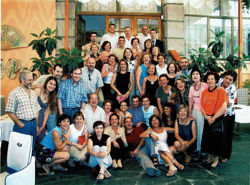 Comida de fin de curso del claustro del Instituto Las Rozas I.