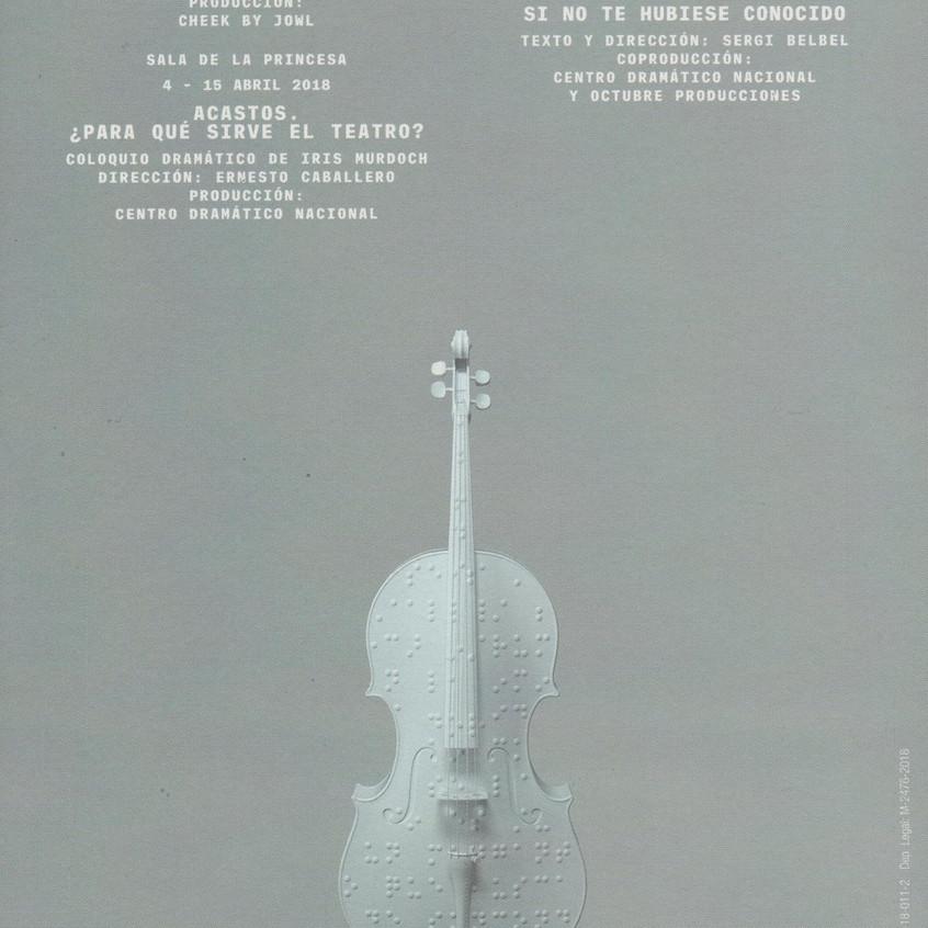 El violín instrumento de los ciegos