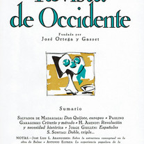 <Don Quijote, europeo>. Salvador de Madariaga. Revista de Occidente. Nº 48. 1967.