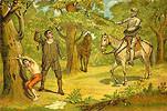 Ilustración del Quijote de González Rojas. Cervantes virtual.