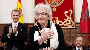 Ida Vitale. Premio Cervantes 2018. RTVE.