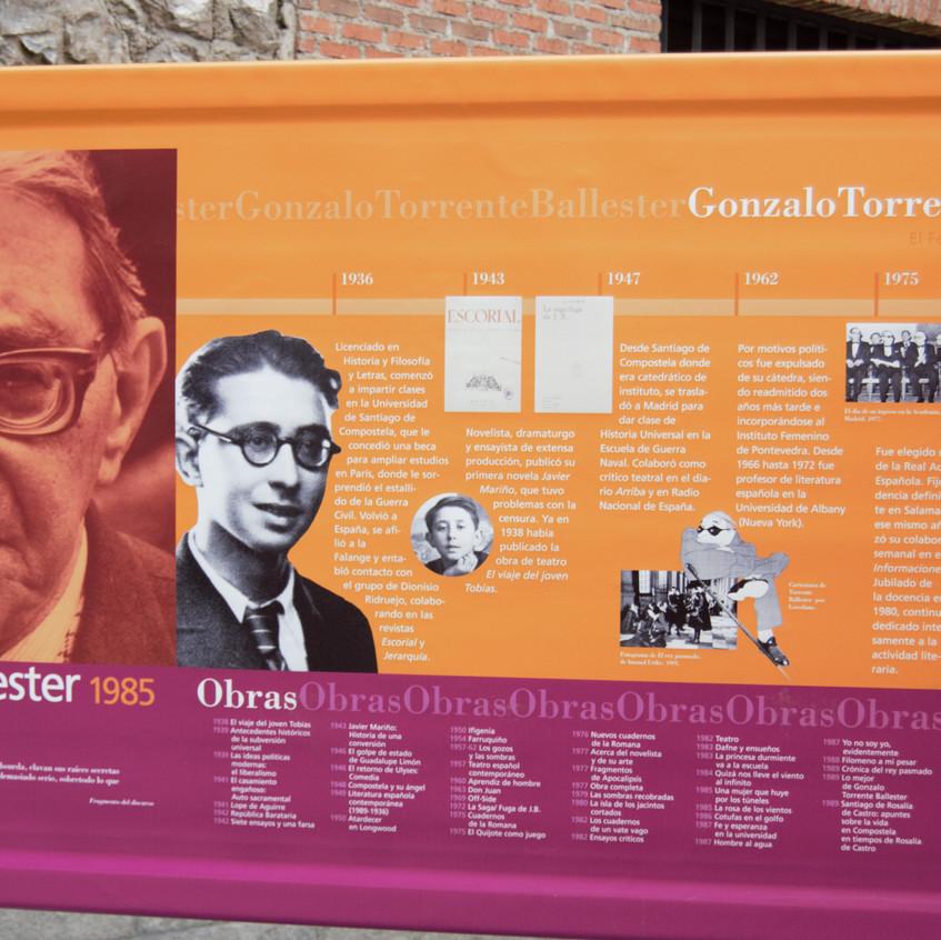 J. Gonzalo Torrente Ballester 1985