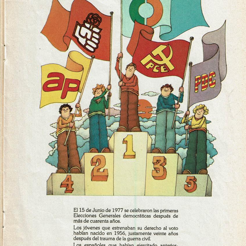 Partidos de las primeras elecciones.