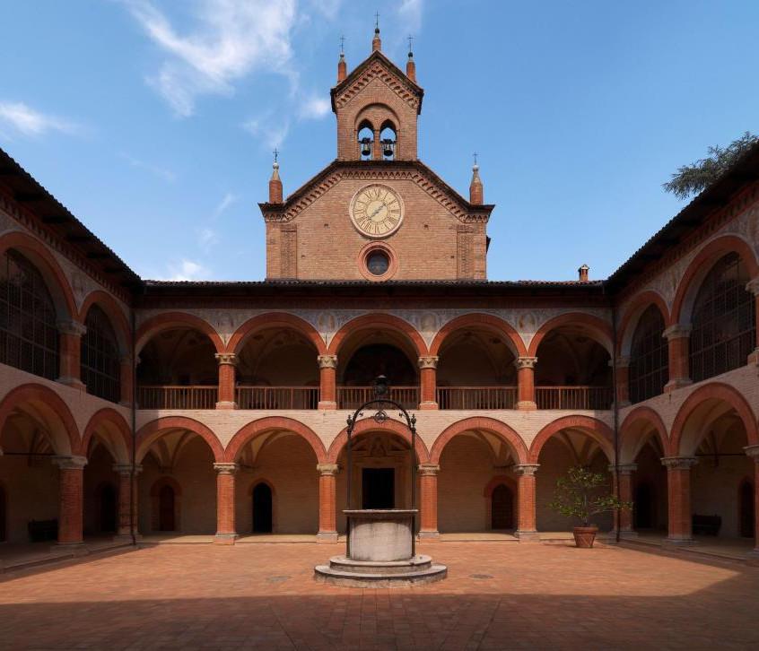 Patio Real Colegio Español. Bolonia