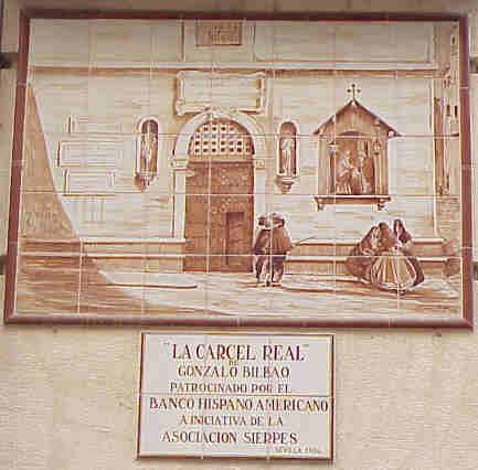 Cárcel de Sevilla. Cervantes. 1597.