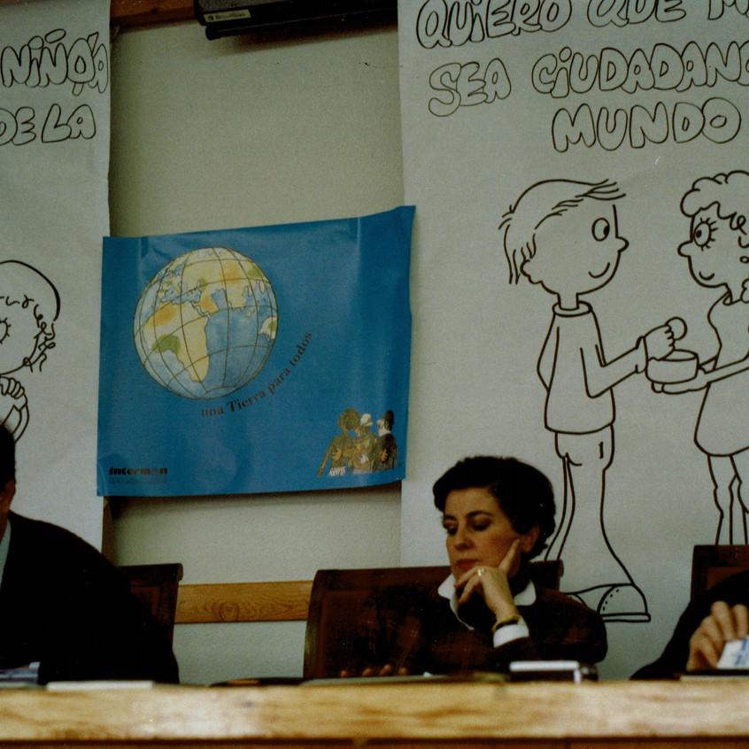 Voluntariado El Escorial.1993