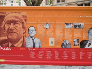 LUIS ROSALES, PREMIO CERVANTES 1982.  El Rey Juan Carlos I entregó el galardón al poeta granadino en