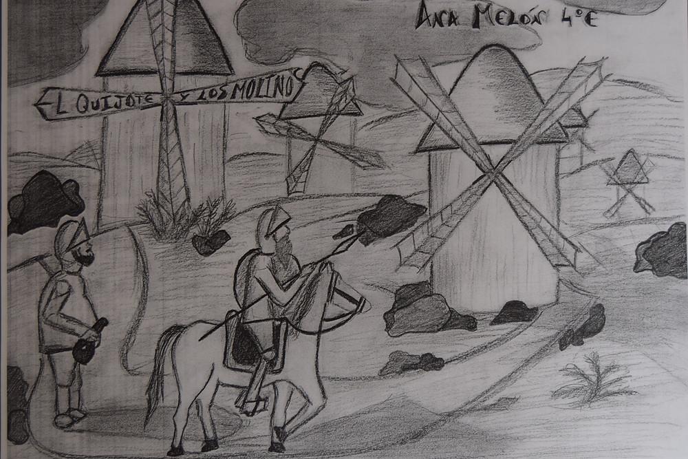 Dibujo original de ANA MELÓN.