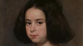 Retrato de niña Velázquez Óleo sobre lienzo, 51,5 x 41 cm ca. 1638-44 Nueva York, The Hispanic Society of America.