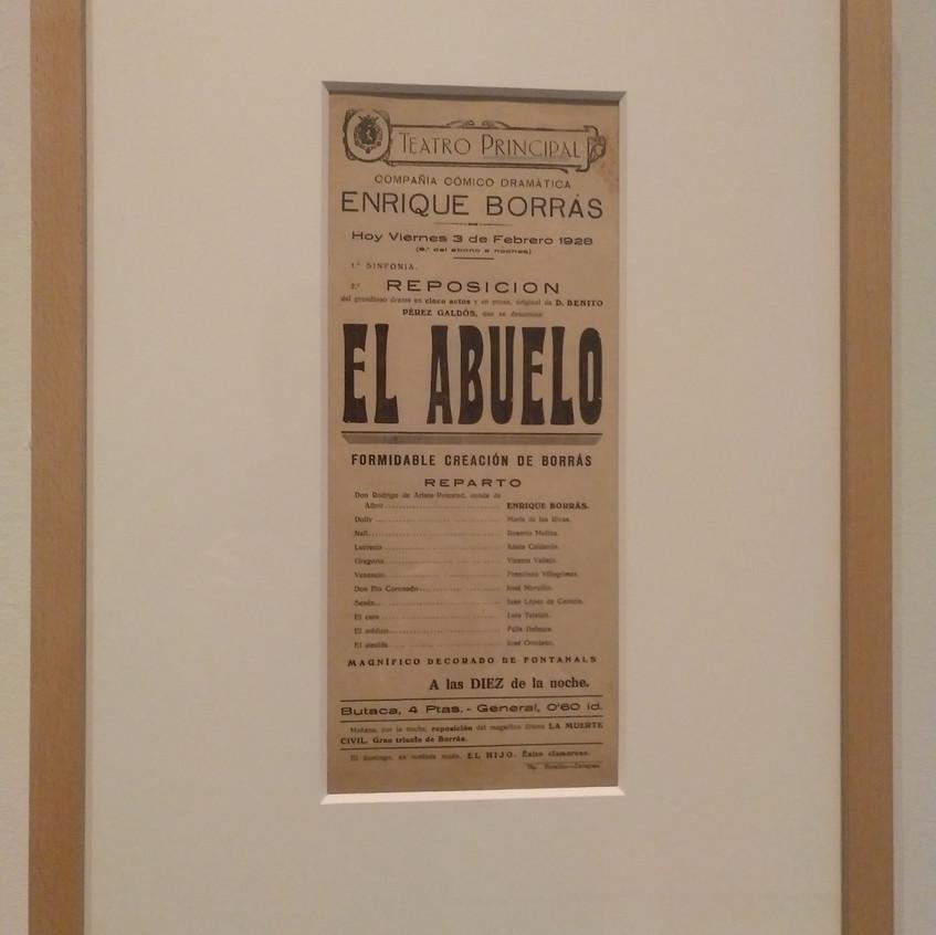 El Abuelo. Benito Pérez Galdós. BNE.