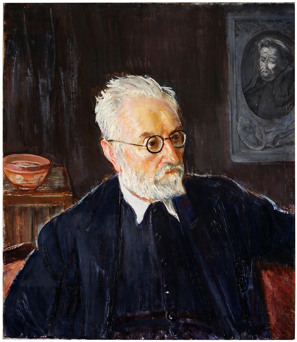 Miguel de Unamuno. FROMKES, MAURICE Vilna (Lituania), 1872 - París, 1931. Museo del Prado.