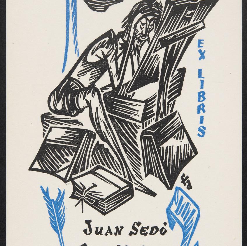 Juan Sedó. Biblioteca Cervantina.BNE